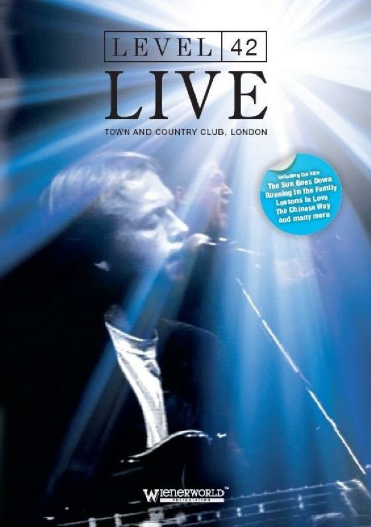 Level 42 Live at the Town and Country Club (DVD)