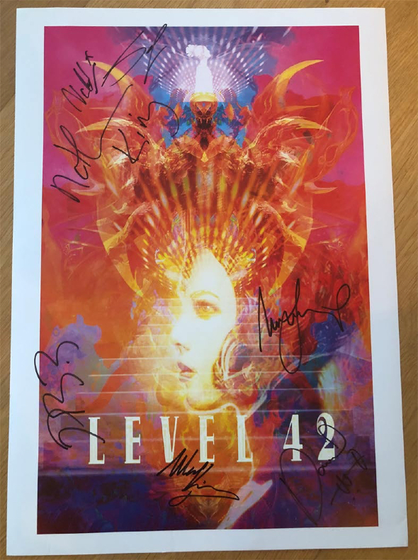 Level 42 Princess poster
