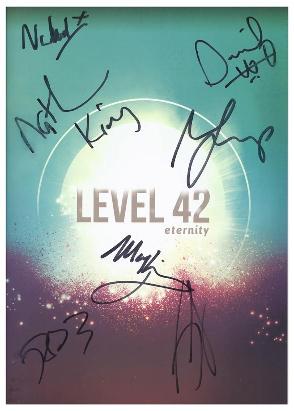 Level 42 Eternity Tour Programme