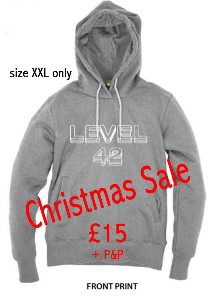 Level 42 2016 Tour Hoodie Grey (XXL)