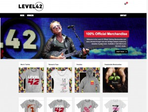 Level 42 - The Official Clothing Store