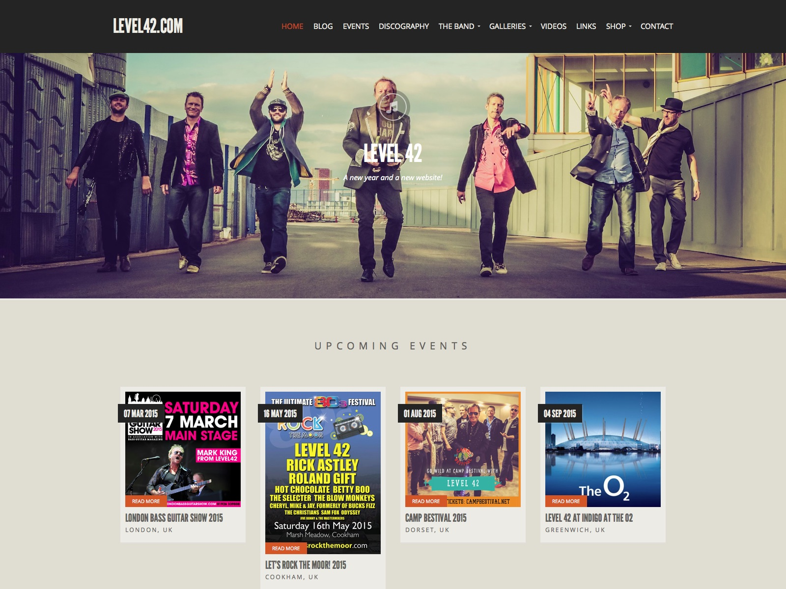 Level42.com | Welcome to the official site of Level 42