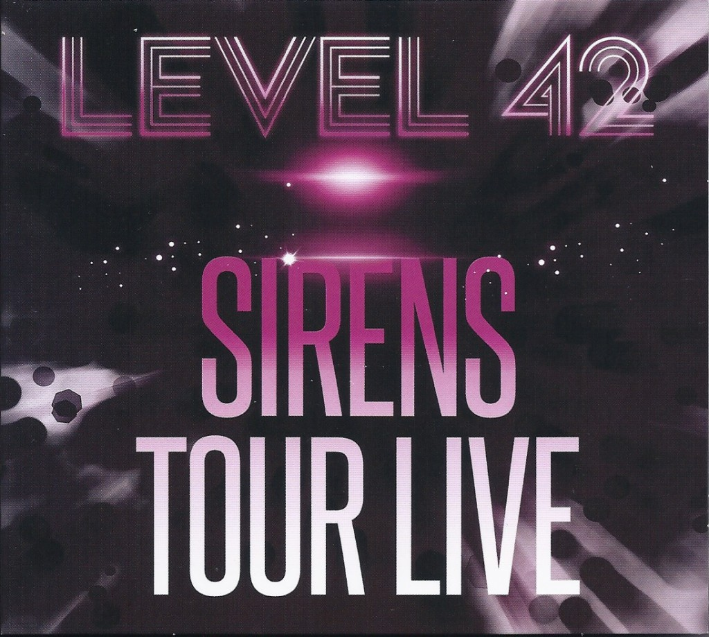 Sirens Tour Live front
