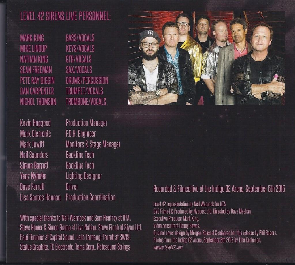Sirens Tour Live inner fold1