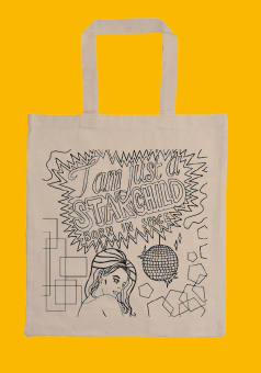 Level 42 Starchild Tote Bag