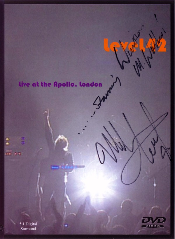 Level 42 Live Apollo 2003 (DVD)
