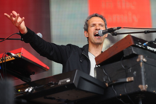 PERTH, SCOTLAND - JULY 28:  Mike Lindup of Level 42 performs on stage on Day 3 of Rewind 80s Festival 2013 at Scone Palace on July 28, 2013 in Perth, Scotland.  (Photo by Scott Campbell/Redferns via Getty Images)